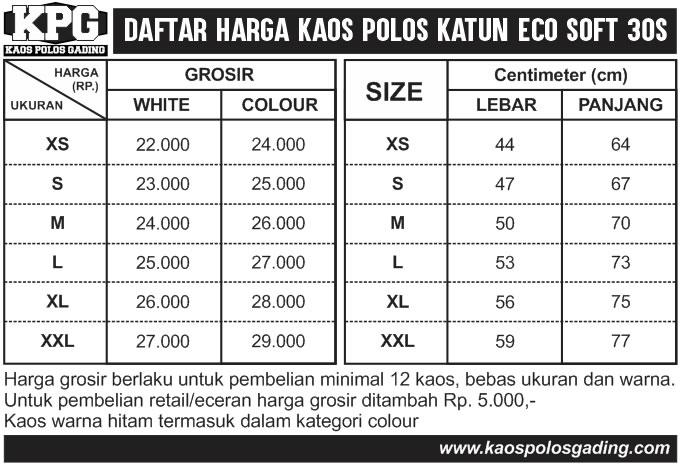 daftar-harga-kaos-polos-gading-klaten-katun-ecosoft-30s